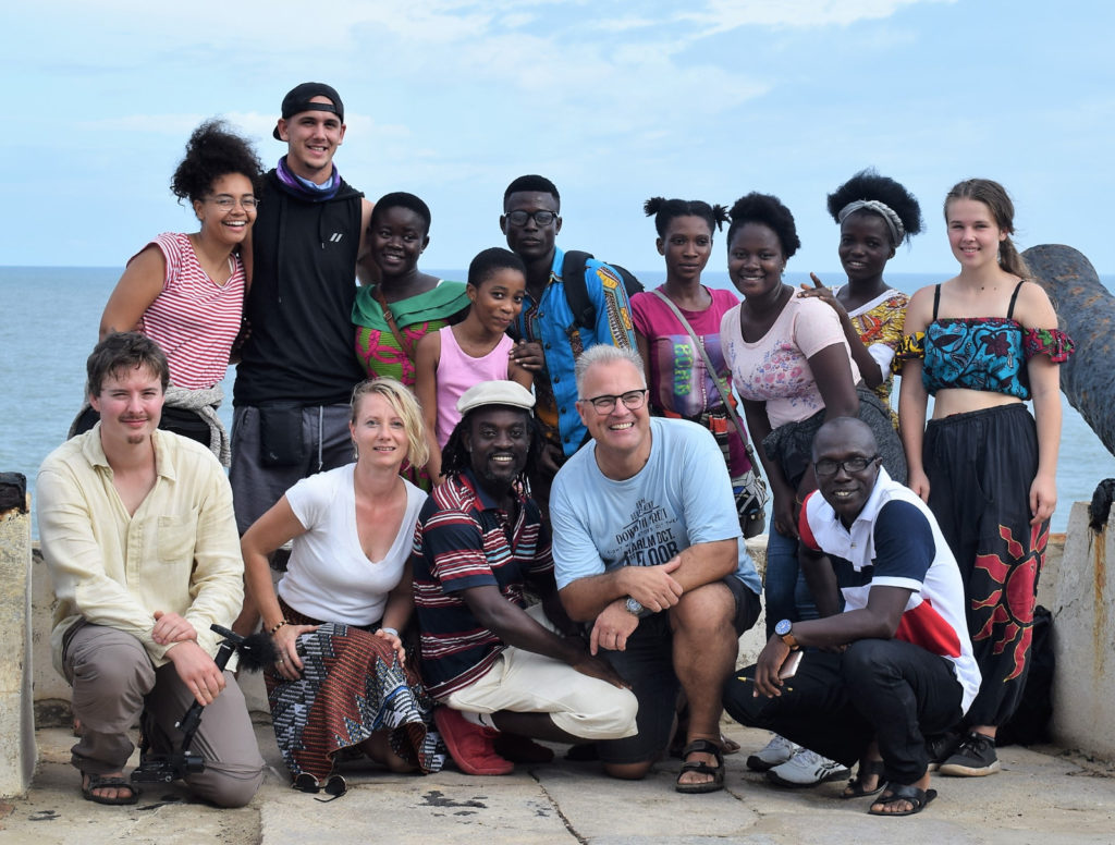 German-Ghanaian school partnership team picture