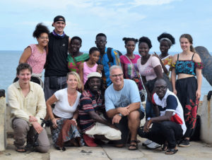 German-Ghanaian school partnership team picture